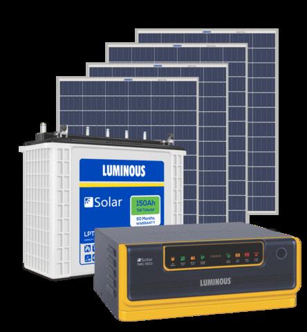 Luminous Solar 1.5KVA inverter Combo